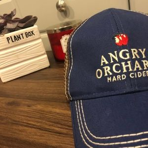 Other - Angry Orchard Mesh Baseball Hat